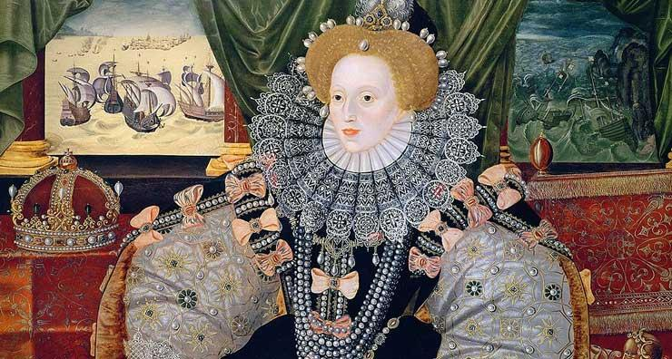 Elizabeth I - The Armada Portrait (detail)